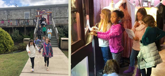 educational visits to The Dollhouse Museum